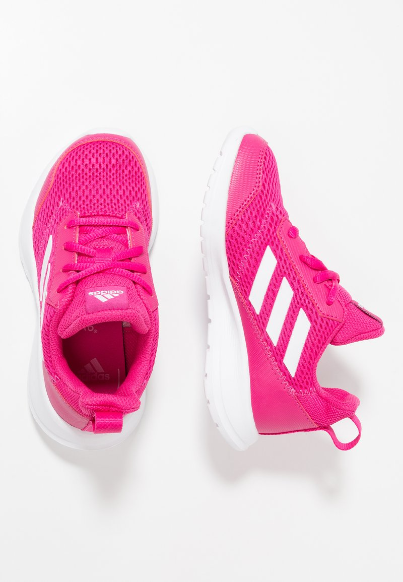 adidas Performance - ALTARUN - Neutral running shoes - reak magenta/footwear white