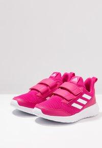 adidas Performance - ALTARUN CF - Neutrální běžecké boty - real magenta/footwear white - 3