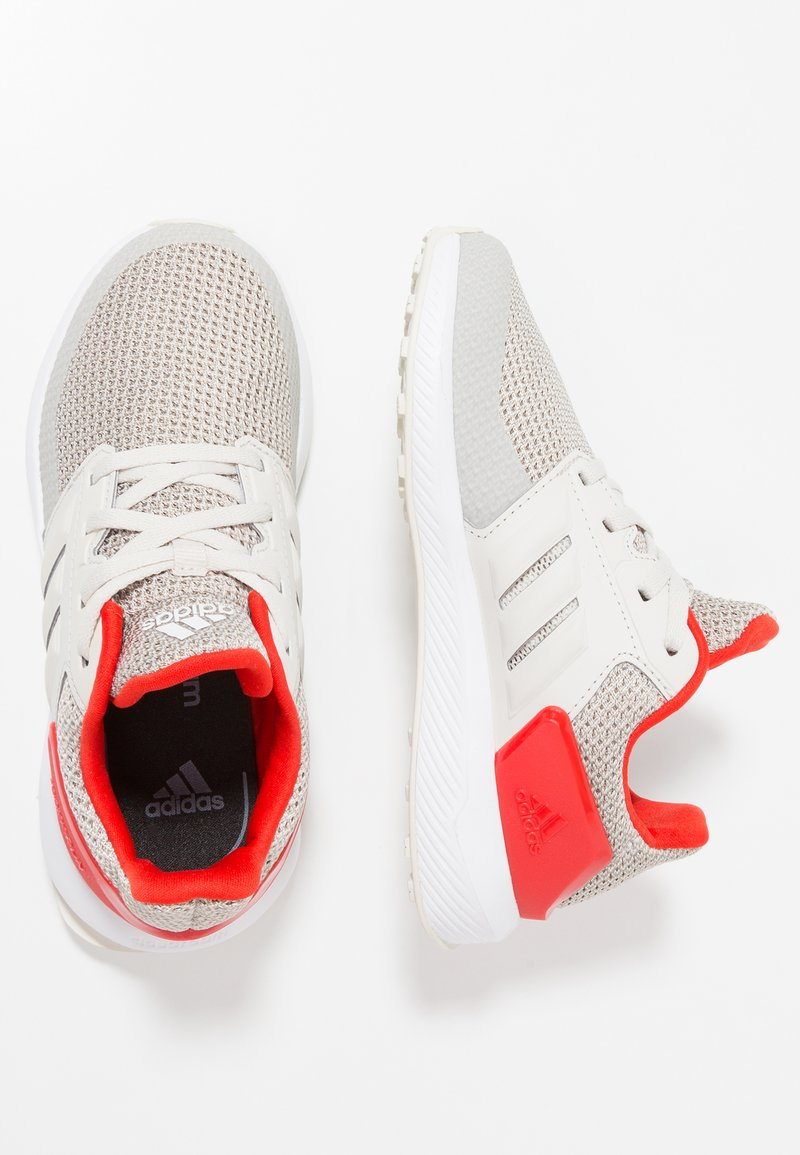 adidas Performance - RAPIDARUN  - Scarpe running neutre - raw white/light brown/active red