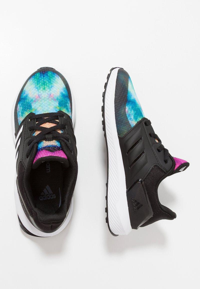 adidas Performance - RAPIDARUN X - Laufschuh Neutral - core black/footwear white