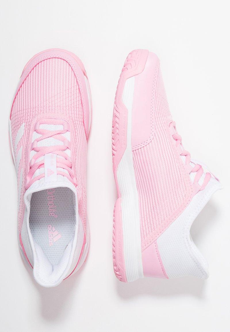 adidas Performance - ADIZERO CLUB - da tennis per terra battuta - trust pink/footwear white