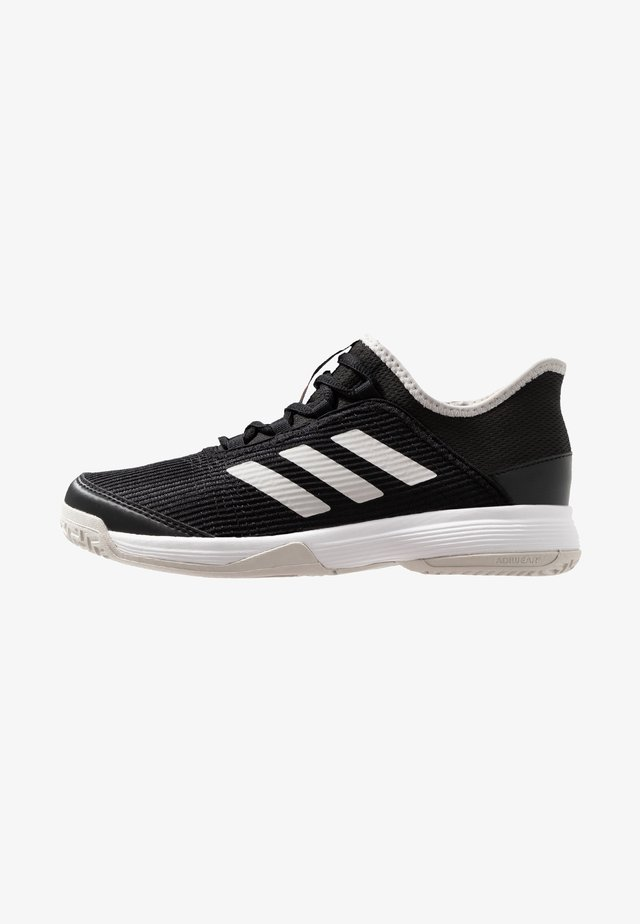 ADIZERO CLUB - Buty tenisowe na nawierzchnię ziemną - core black/footwear white/grey one