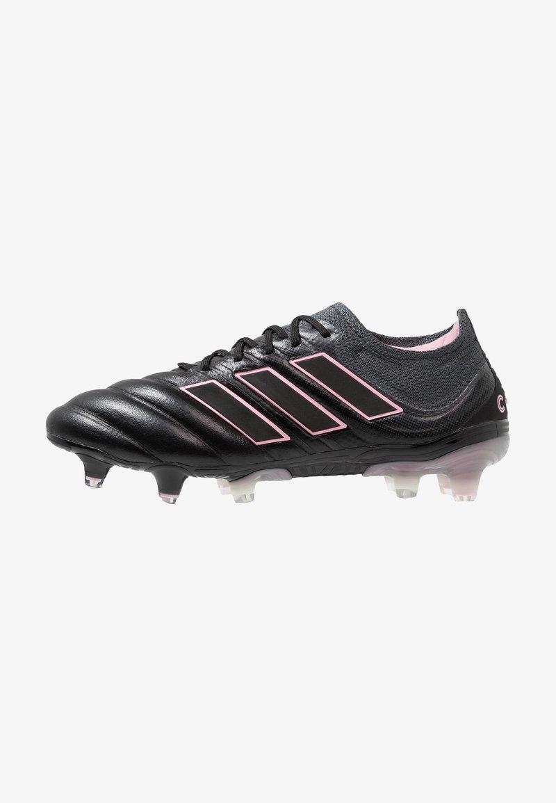 adidas Performance - COPA 19.1 FG - Moulded stud football boots - core black/grey six