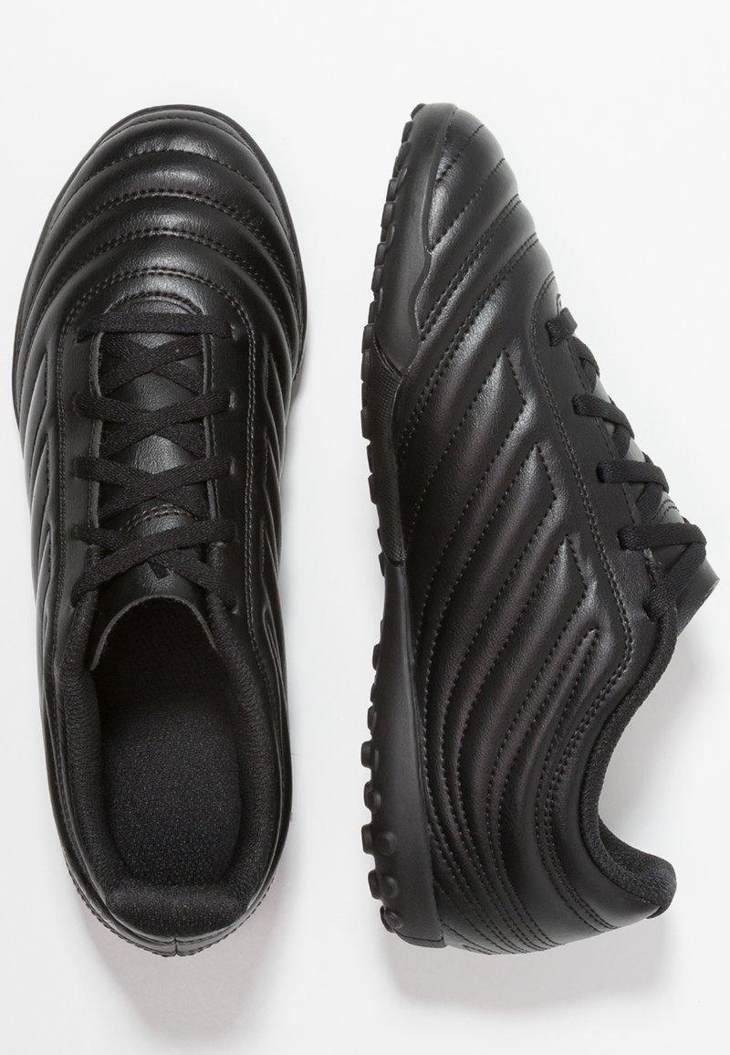 adidas Performance - COPA 19.4 TF - Fußballschuh Multinocken - core black