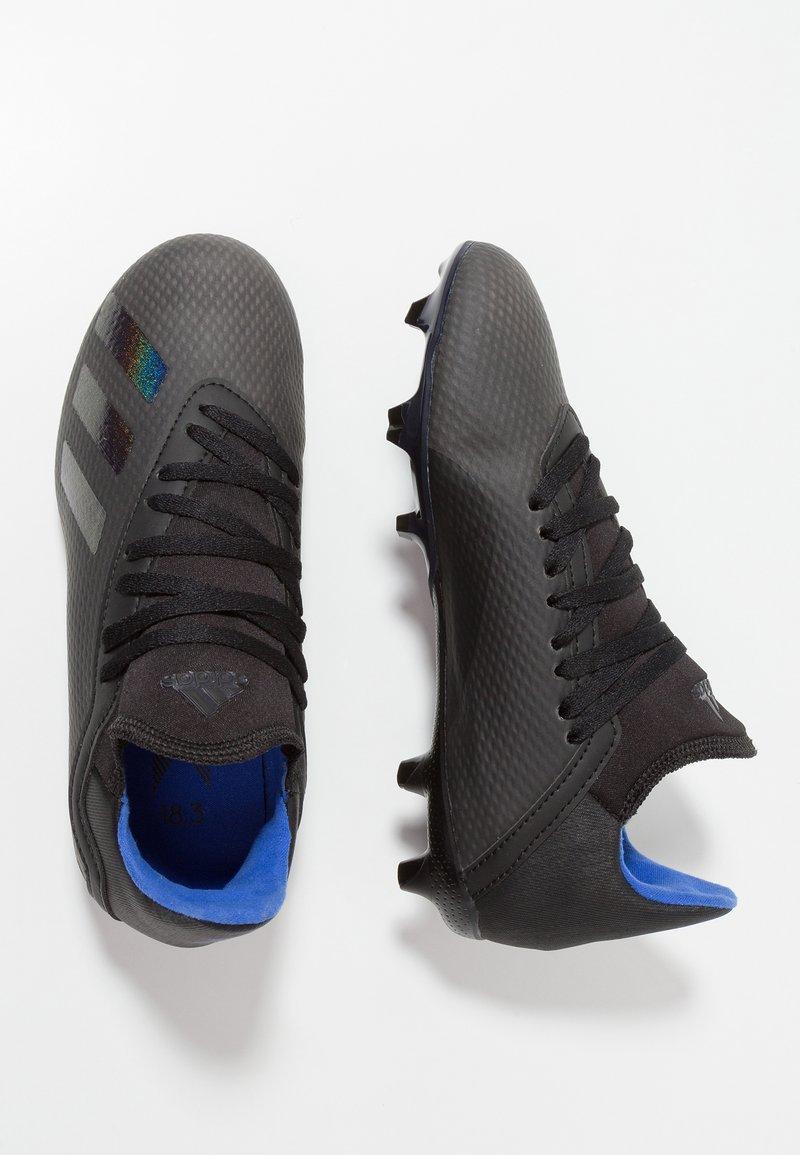 adidas Performance - X 18.3 FG - Scarpe da calcetto con tacchetti - core black/bold blue