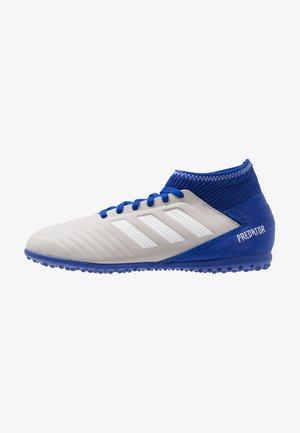 PREDATOR 19.3 TF - Fotbollsskor universaldobbar - grey two/footwear white/bold blue