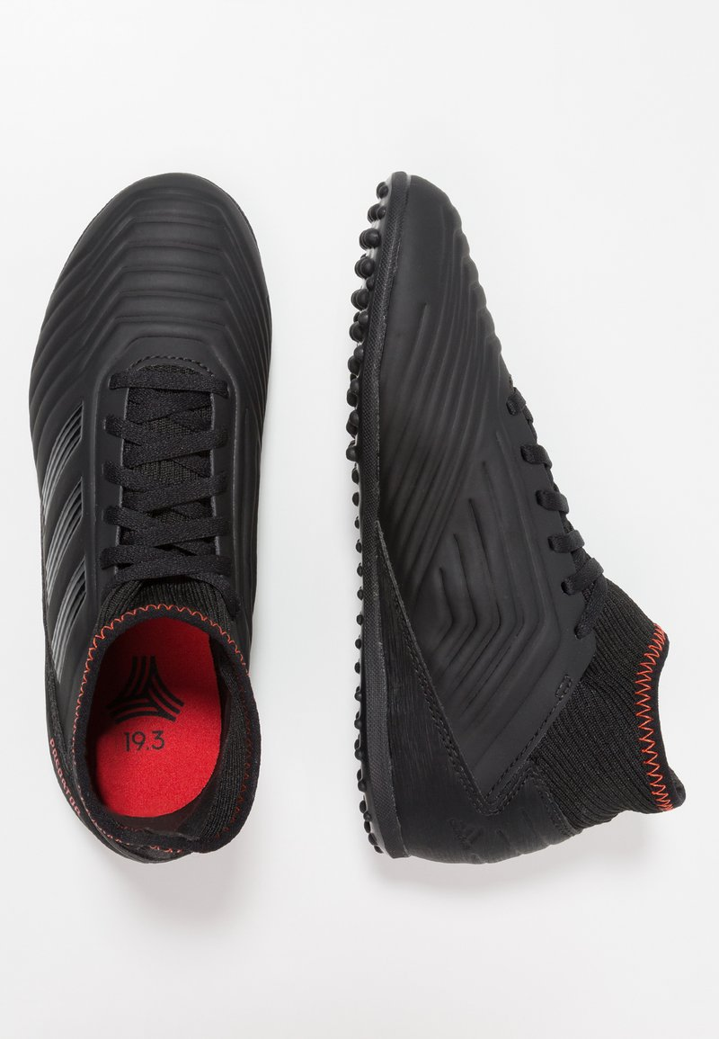 adidas Performance - PREDATOR 19.3 TF - Fußballschuh Multinocken - core black/active red