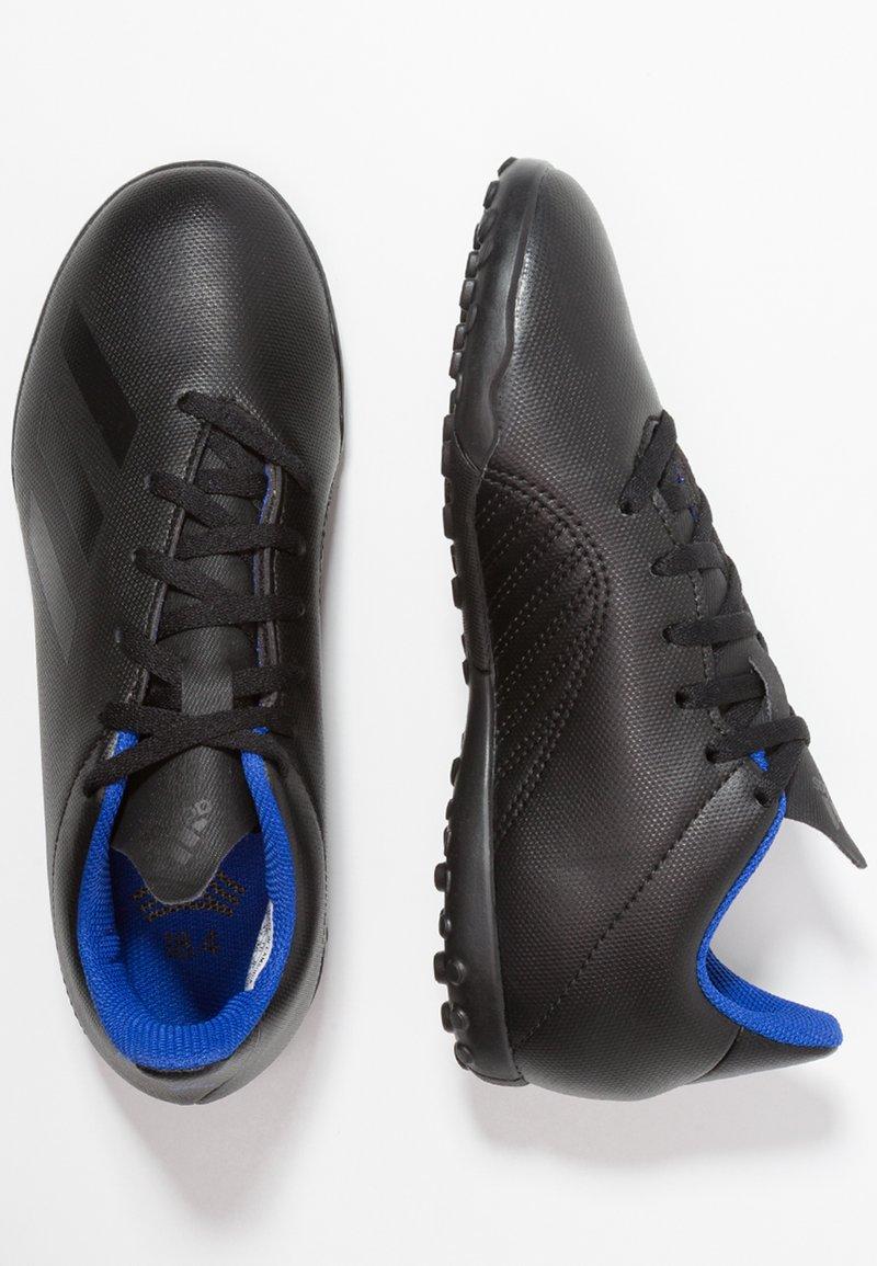 adidas Performance - X 18.4 TF - Scarpe da calcetto con tacchetti - core black/bold blue