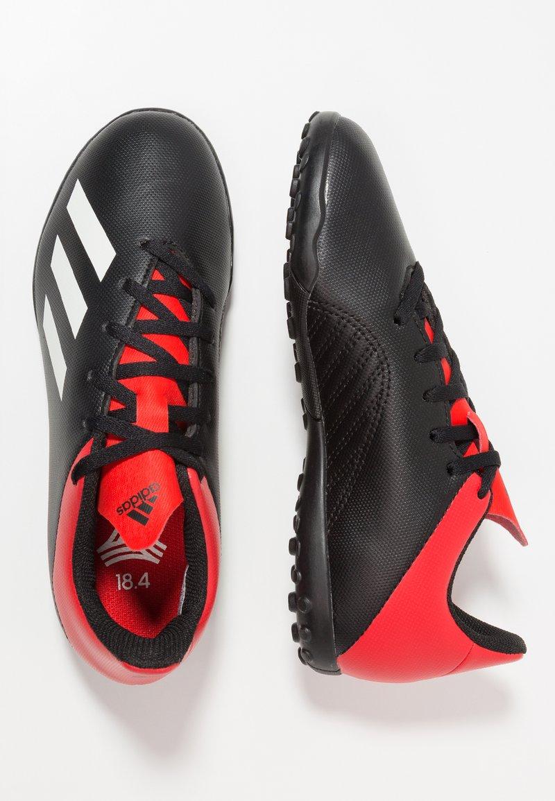 adidas Performance - X 18.4 TF - Voetbalschoenen voor kunstgras - core black/offwhite/active red