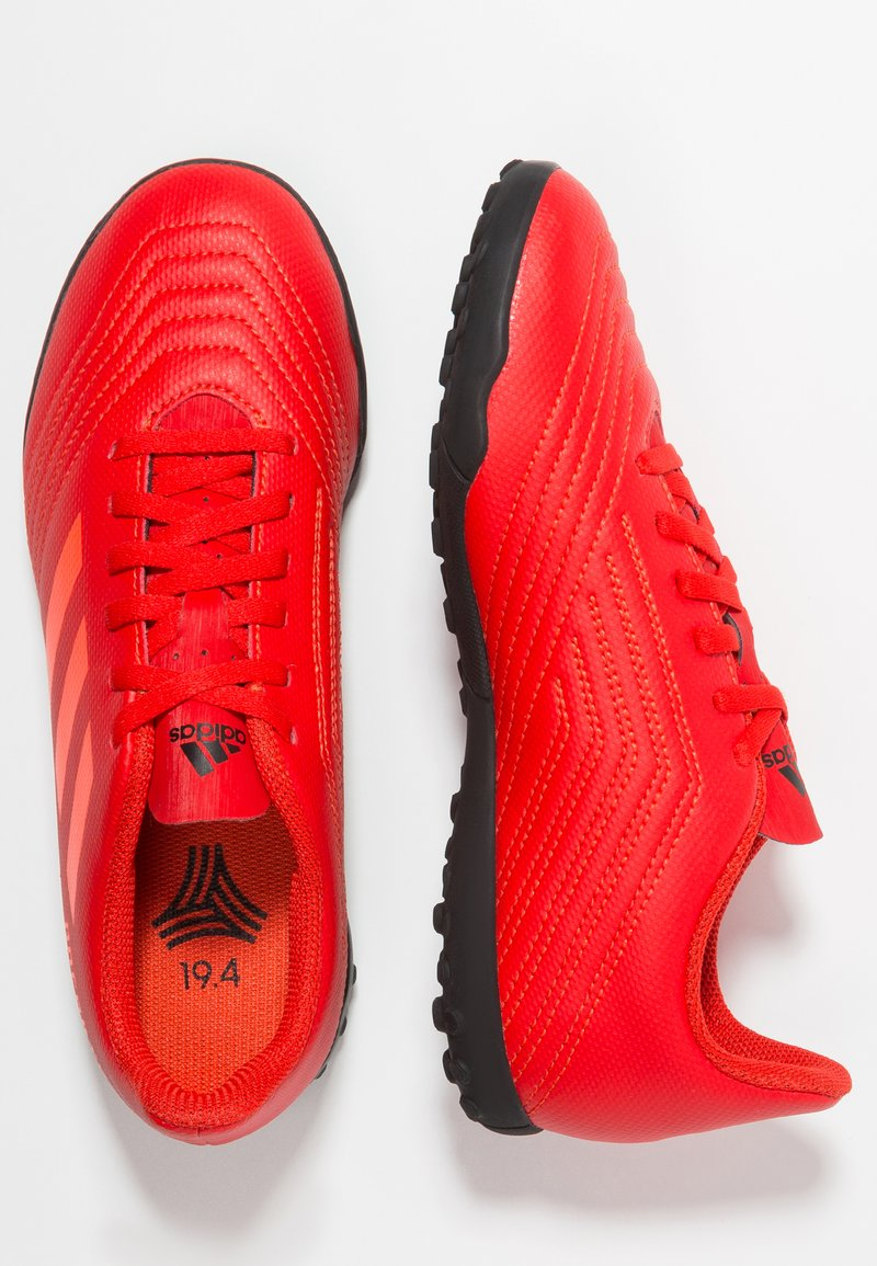 adidas Performance - PREDATOR 19.4 TF - Korki Turfy - active red/solar red/core black