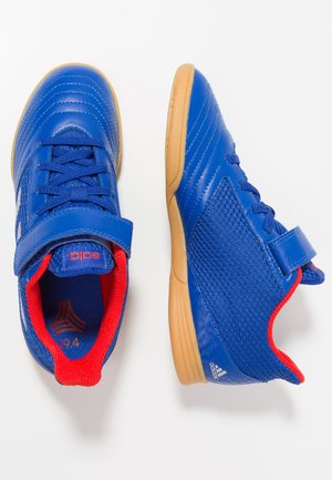 PREDATOR 19.4 IN SALA - Chaussures de foot en salle - bold blue/silver metaillc/activ red