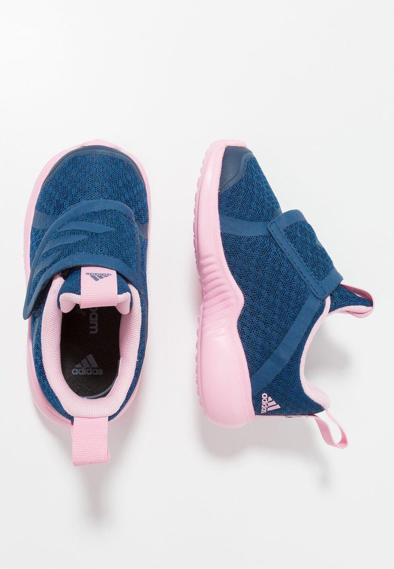 adidas Performance - FORTARUN X CF - Laufschuh Neutral - legend marine/true pink/footwear white