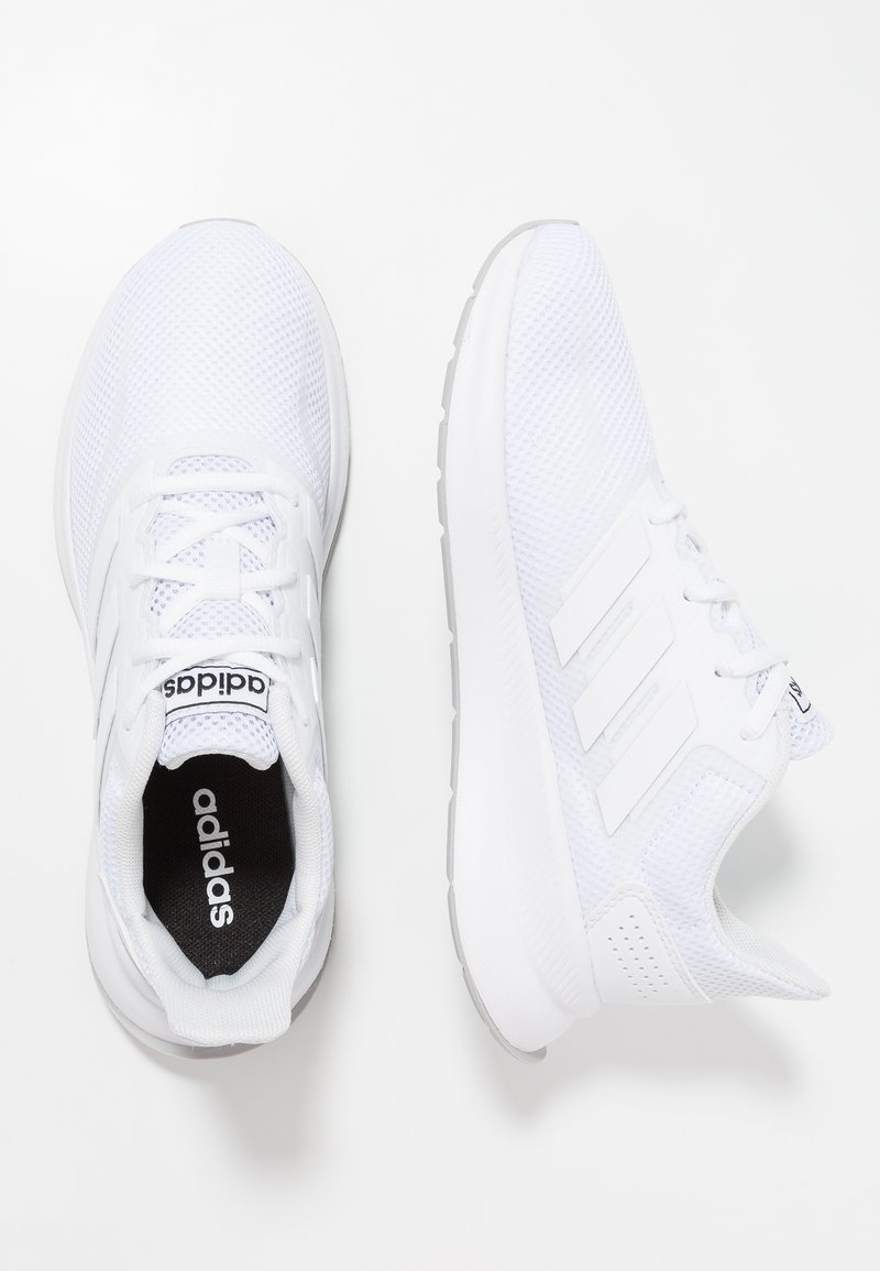 adidas Performance - RUNFALCON - Neutral running shoes - footwear white/grey two