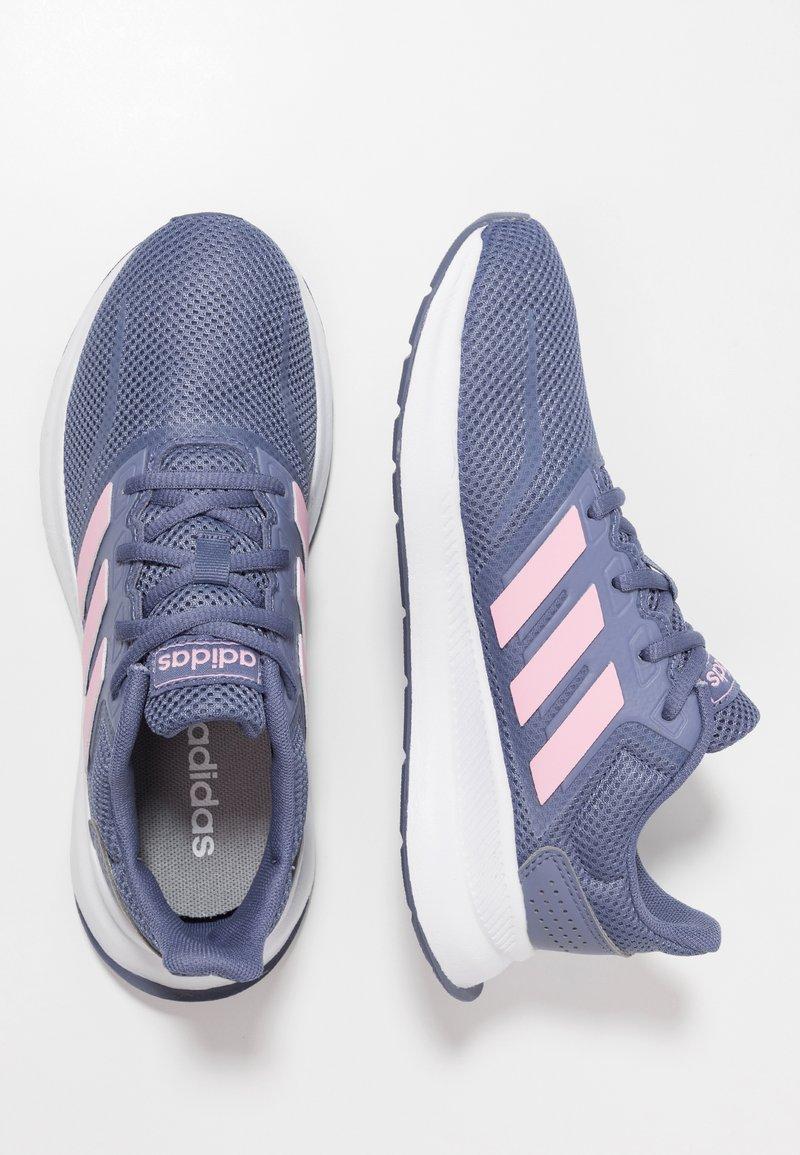 adidas Performance - Chaussures de running neutres - raw indigo/true pink/core black