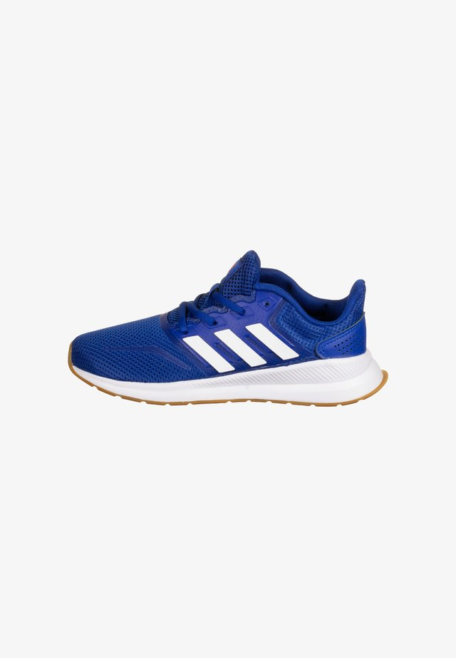 RUNFALCON - Neutral running shoes - royal blue / footwear white / semi solar red
