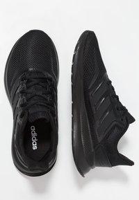 adidas Performance - RUNFALCON - Zapatillas de running neutras - core black - 0