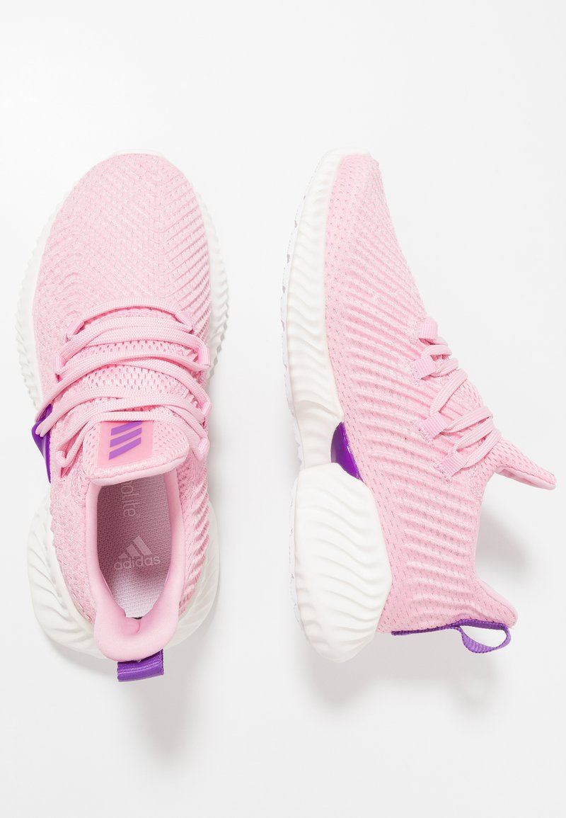 adidas Performance - ALPHABOUNCE INSTINCT - Laufschuh Neutral - true pink/active purple/cloud white
