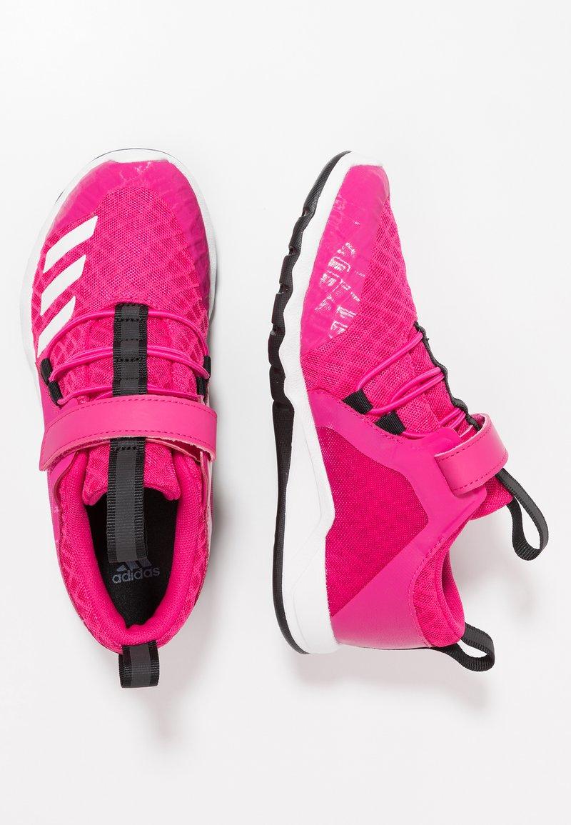 adidas Performance - RAPIDAFLEX - Obuwie do biegania treningowe - real magenta/footwear white/clear black
