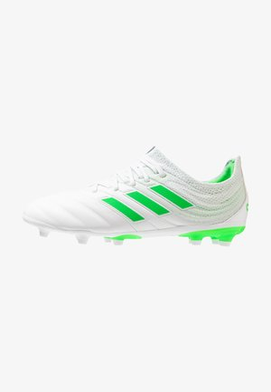 COPA 19.1 FG - Voetbalschoenen met kunststof noppen - footwear white/solar lime