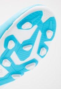 adidas Performance - X 19.4 FXG - Voetbalschoenen met kunststof noppen - bright cyan/core black/shock pink - 2