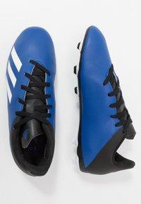 adidas Performance - X 19.4 FXG - Voetbalschoenen met kunststof noppen - royal blue/footwear white/core black - 0