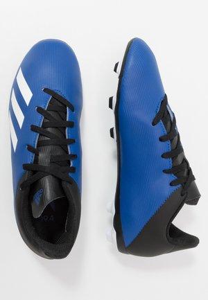 X 19.4 FXG - Voetbalschoenen met kunststof noppen - royal blue/footwear white/core black