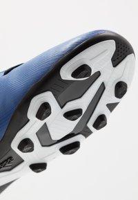 adidas Performance - X 19.4 FXG - Voetbalschoenen met kunststof noppen - royal blue/footwear white/core black - 2