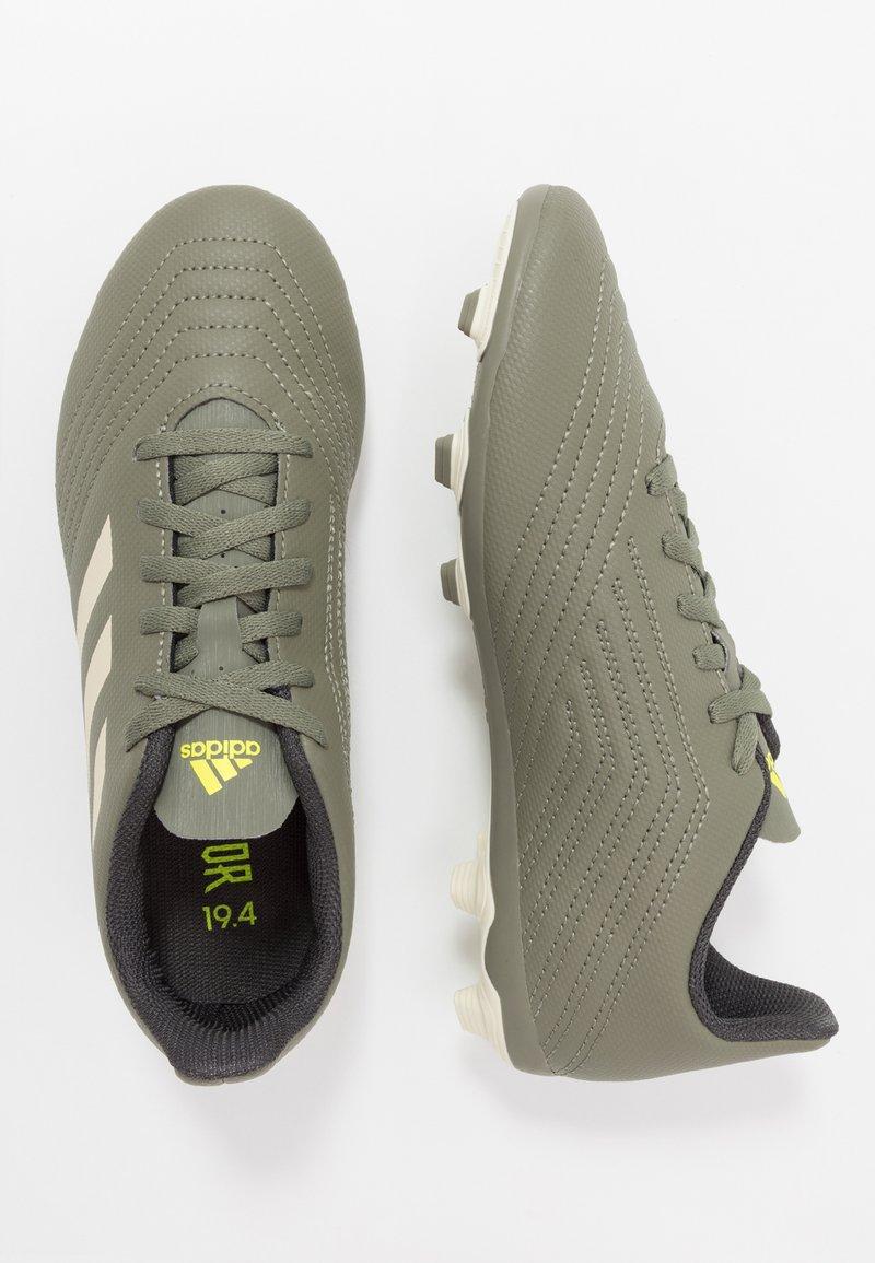 adidas Performance - PREDATOR 19.4 FXG - Voetbalschoenen met kunststof noppen - legend green/sand/solar yellow