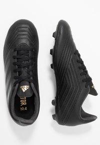 adidas Performance - PREDATOR 19.4 FXG - Scarpe da calcetto con tacchetti - core black/gold metallic - 0