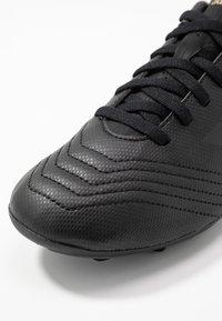 adidas Performance - PREDATOR 19.4 FXG - Scarpe da calcetto con tacchetti - core black/gold metallic - 2