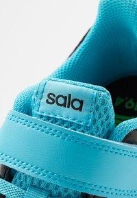 adidas Performance - PREDATOR 19.4 IN SALA  - Scarpe da calcetto - core black/bright cyan/solar yellow - 2