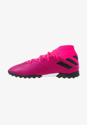 NEMEZIZ 19.3 TF - Chaussures de foot multicrampons - shock pink/core black