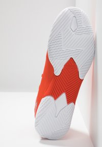 adidas Performance - NEMEZIZ 19.3 IN - Fußballschuh Halle - active red/silver metallic/solar red - 5
