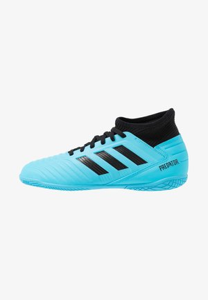 PREDATOR 19.3 IN - Chaussures de foot en salle - bright cyan/core black/solar yellow