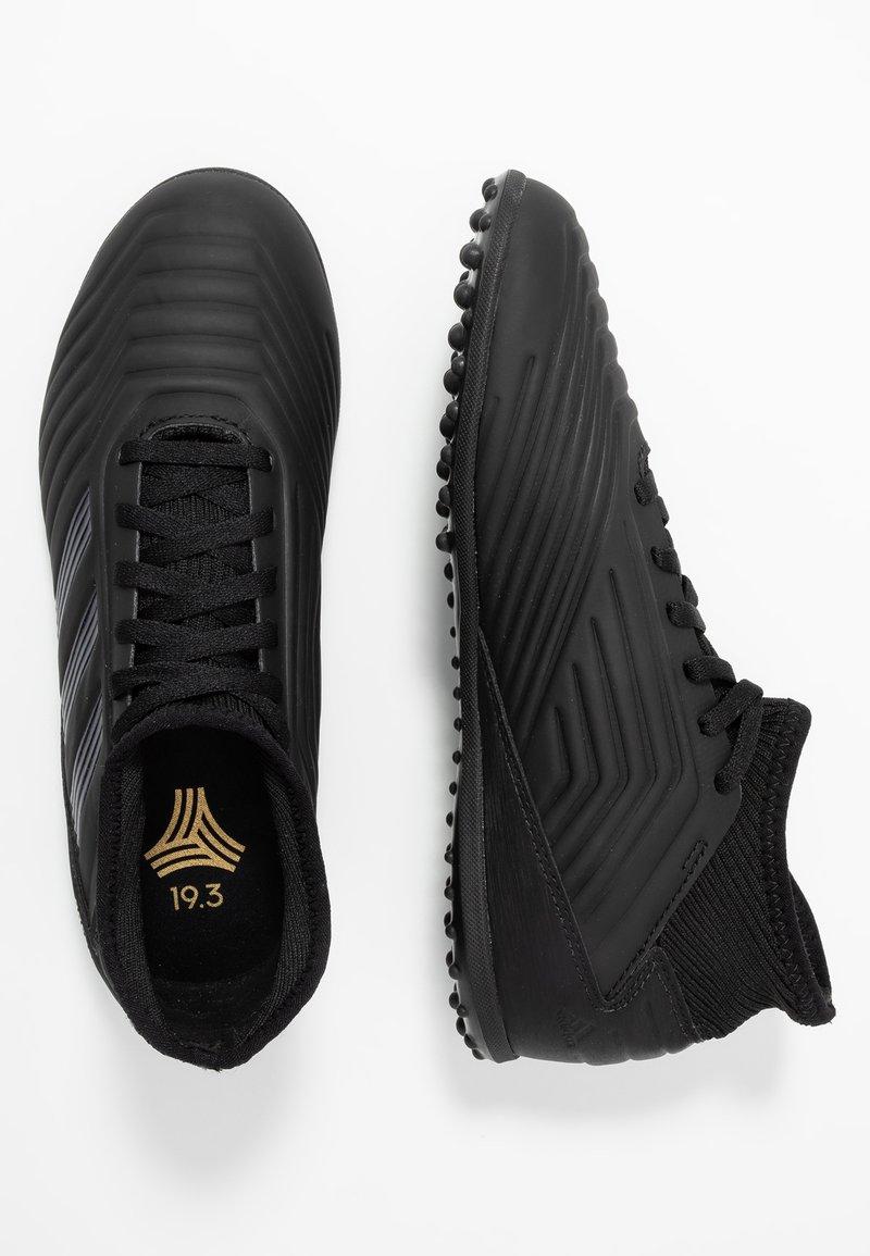 adidas Performance - PREDATOR 19.3 TF - Fußballschuh Multinocken - core black/gold metallic