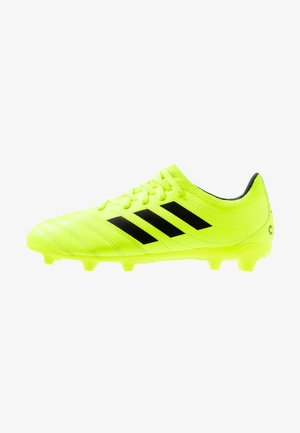 COPA 19.3 FG - Moulded stud football boots - solar yellow/core bLACK