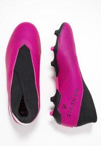 adidas Performance - NEMEZIZ 19.3 LL FG  - Voetbalschoenen met kunststof noppen - shock pink/footwear white/core black - 0