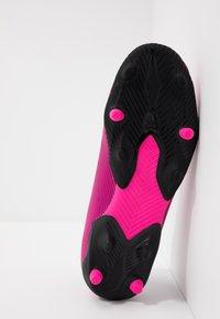 adidas Performance - NEMEZIZ 19.3 LL FG  - Voetbalschoenen met kunststof noppen - shock pink/footwear white/core black - 5