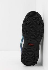 adidas Performance - TERREX HYPERHIKER TRAXION HIKING SHOES - Trekingové boty - glow blue/core black/signal green - 5