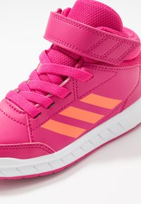 adidas Performance - ALTASPORT MID - Sports shoes - real magenta/hi-res coral/footwaer white - 2