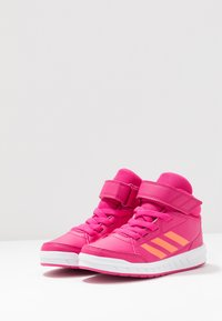 adidas Performance - ALTASPORT MID - Sports shoes - real magenta/hi-res coral/footwaer white - 3