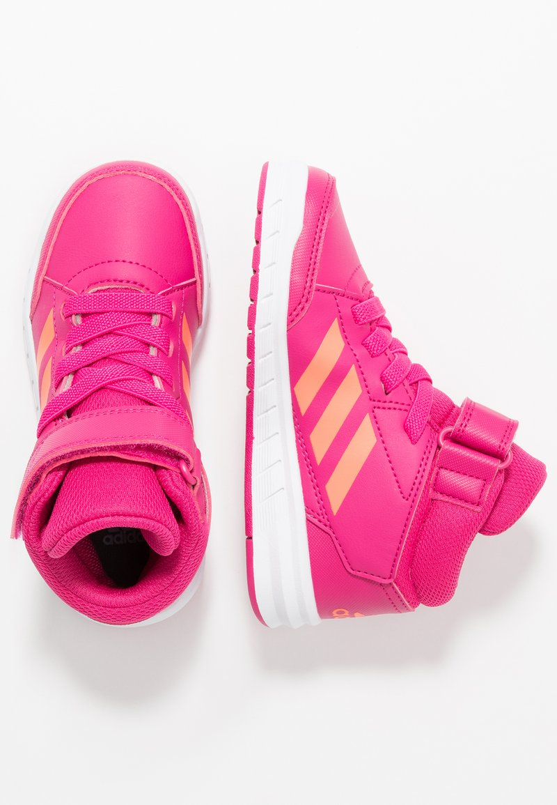 adidas Performance - ALTASPORT MID - Trainings-/Fitnessschuh - real magenta/hi-res coral/footwaer white