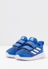 adidas Performance - ALTARUN CF - Laufschuh Neutral - blue/footwear white - 3