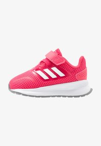 adidas Performance - RUNFALCON - Hardloopschoenen neutraal - real pink/footwear white/grey three - 1
