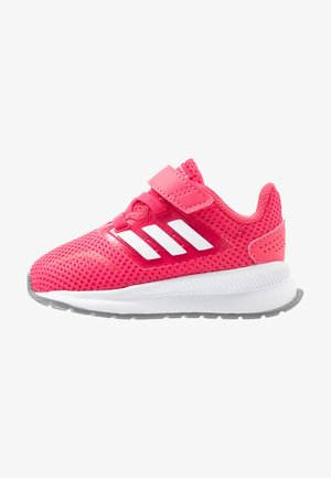 RUNFALCON - Zapatillas de running neutras - real pink/footwear white/grey three