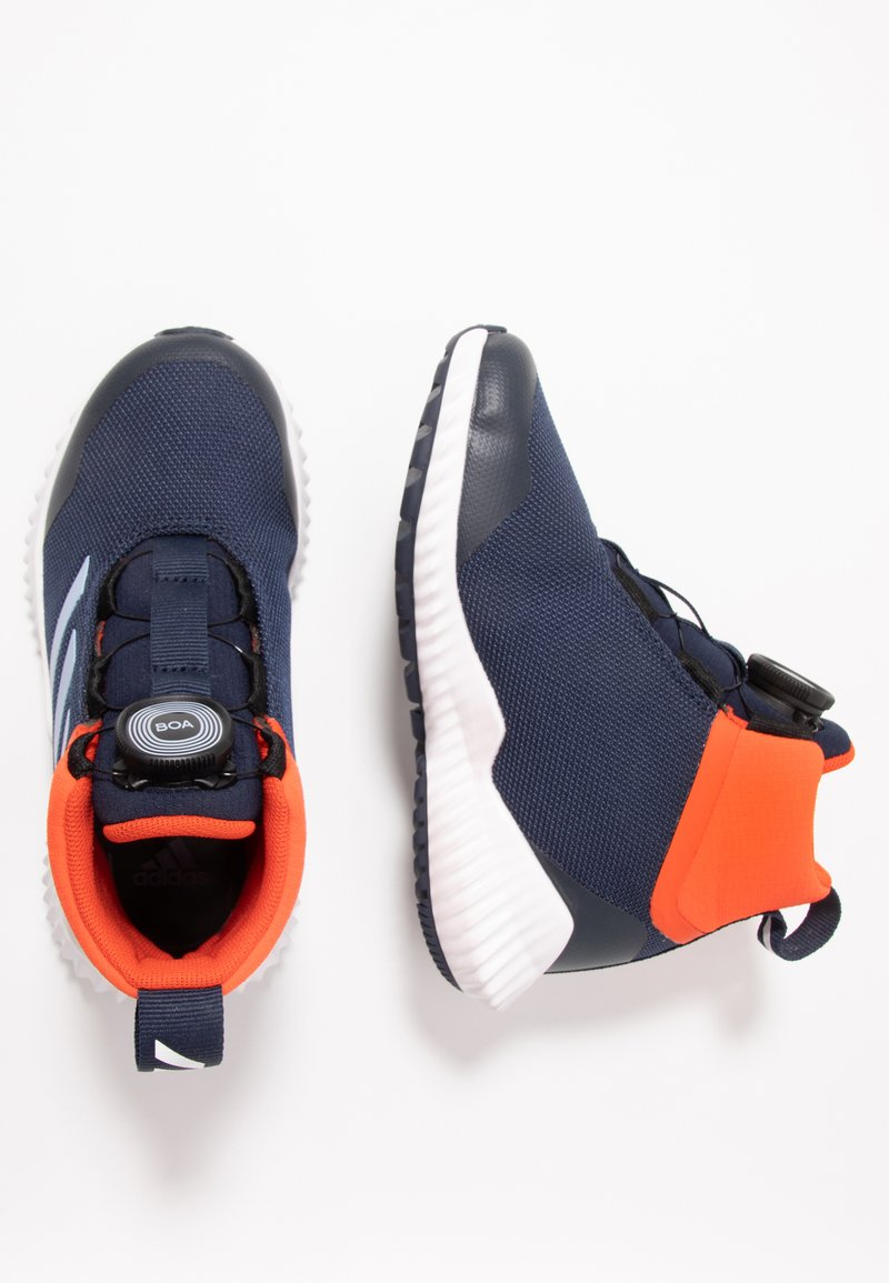 adidas Performance - FORTATRAIL BOA - Juoksukenkä/neutraalit - collegiate navy/glow blue/active orange