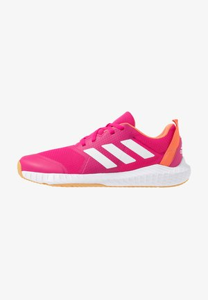 FORTAGYM - Sports shoes - real magenta/footwear white/semi coral
