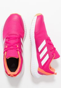 adidas Performance - FORTAGYM - Chaussures d'entraînement et de fitness - real magenta/footwear white/semi coral - 1