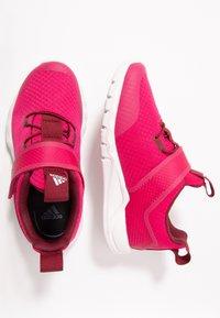 adidas Performance - RAPIDAFLEX  - Chaussures de running neutres - real magenta/glow pink/burgundy - 1