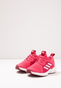 adidas Performance - FORTARUN X - Chaussures de running neutres - real pink/footwear white/active maroon